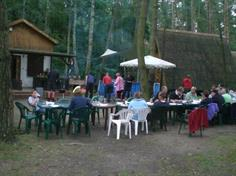 barbeque op Nowa Holandia